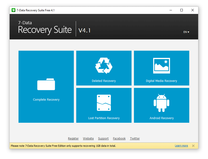 7 Data Recovery Suite - Review & free download for Windows