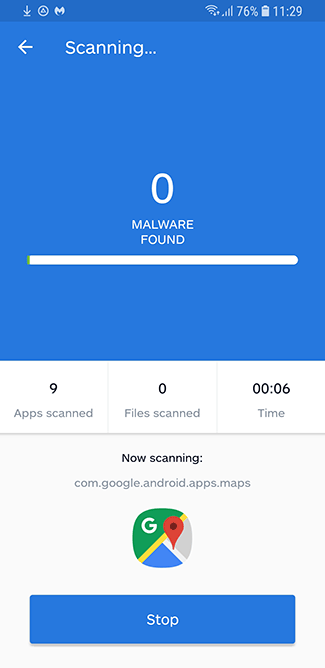 Malwarebytes spyware remover for Android