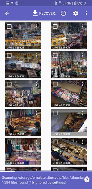 Como recuperar capturas de tela apagadas do celular