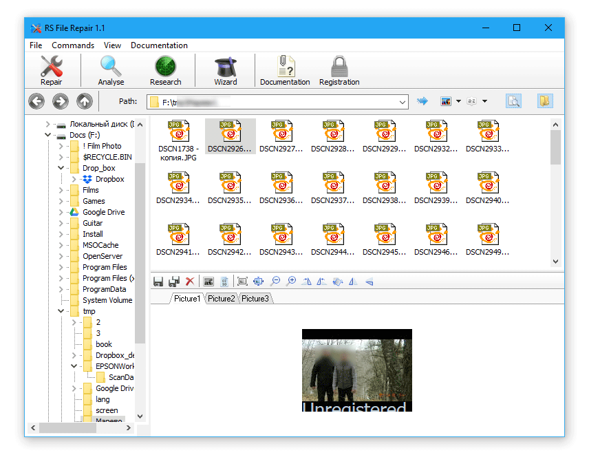 RS File Repair - best jpeg repair software for PC