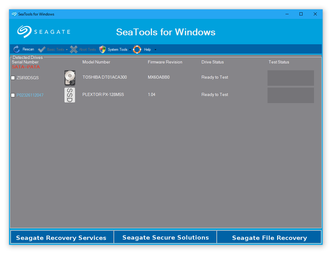 Seagate Seatools Hard Disk Repair Software Download Seatools For Windows